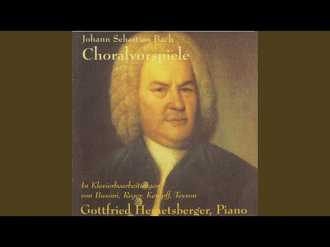 18 Chorale Preludes: No. 3, An Wasserflüssen Babylon, BWV 653 (Arr. for Piano by Max Reger)
