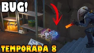 LE BUG de la mort de FORTNITE dans CHOPPED FLOORS, SEASON 8, v8.51