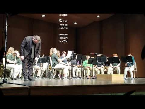 Maryville Middle School Bands Spring Concert