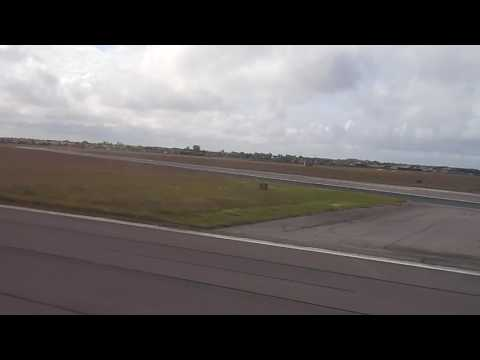 Blackpool Airport Take off