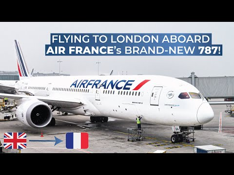 TRIPREPORT | Air France (ECONOMY) | Boeing 787-9 | London Heathrow - Paris Charles De Gaulle
