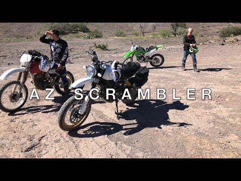 AZ Scrambler - Sheep Bridge Adventure - Scrambler Ducati Desert Sled