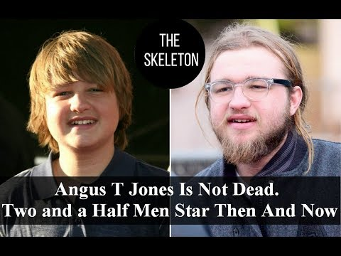 Angus T Jones Is Not Dead. Two and a Half Men Star Then And Now