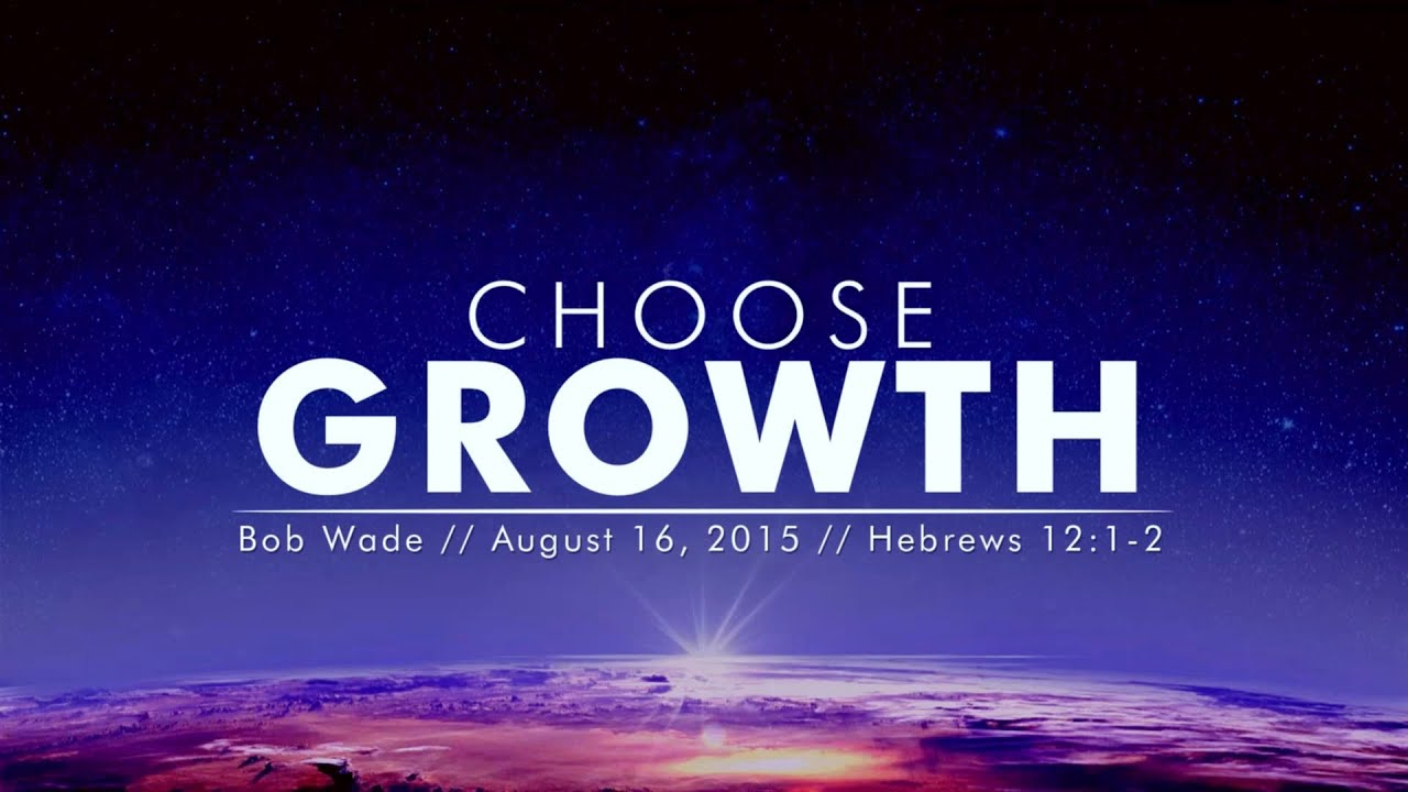 Sermon - Hebrews 12:1-2 - Bob Wade
