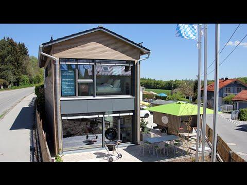 Modernes Modulhaus In Schaftlarn Bei Munchen Stark Youtube
