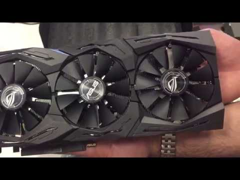 Unboxing ASUS ROG Strix Radeon RX 580 O8G Gaming OC Edition