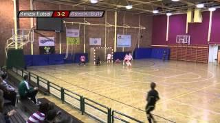 Dunakeszi Kinizsi - Astra K. Bulls 2014.01.05 Női MK elődöntő 1. m