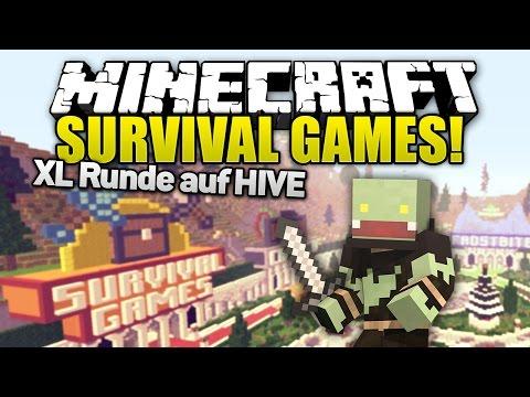 Doppelfolge mal wieder auf dem Hive spielen! - Minecraft Survival Games   ungespielt