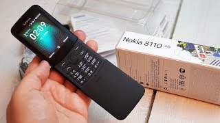 Nokia 8110 4G: старая сказка на новый лад!