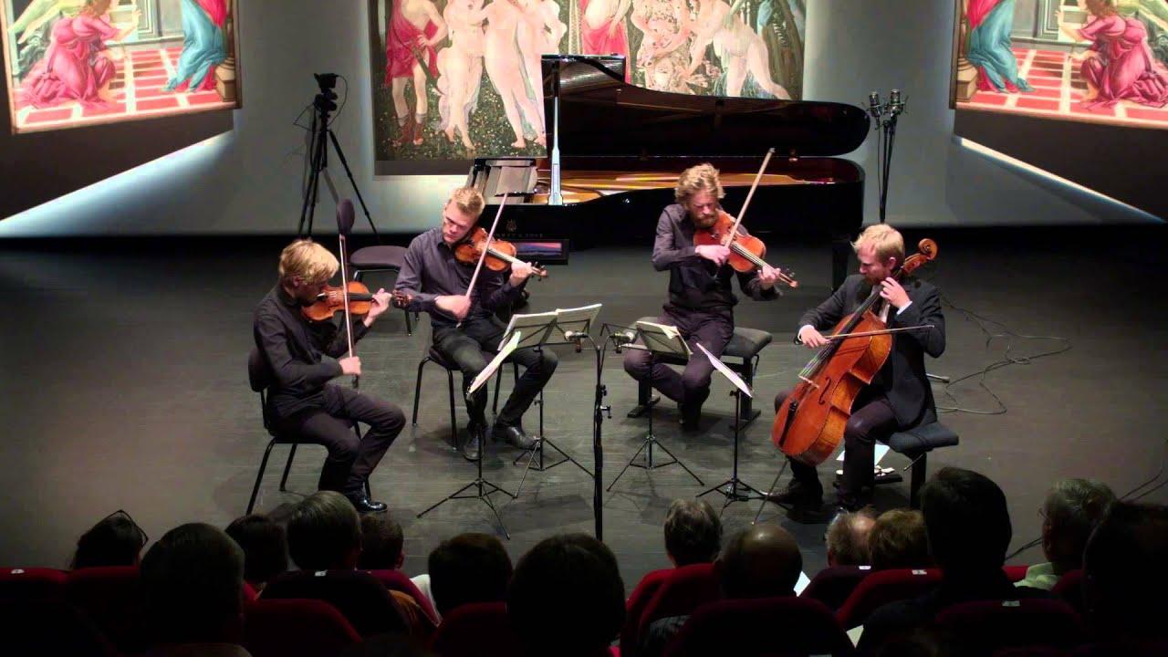 The Danish String Quartet play's