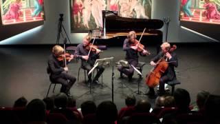 The Danish String Quartet play