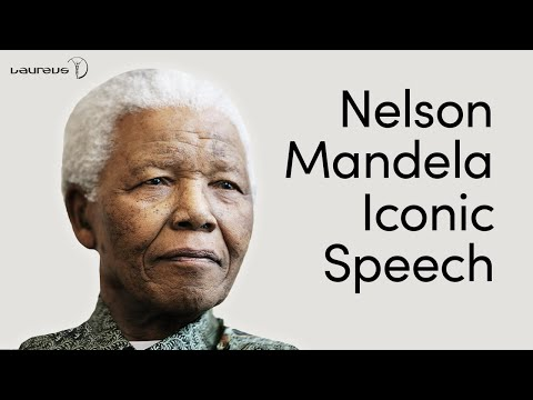 Nelson Mandela speech that changed the world