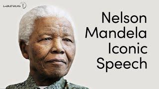 Nelson Mandela speech that changed the world