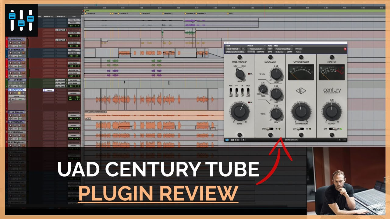 Century Tube Channel Strip from UAD [Plugin Overview]
