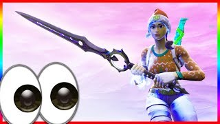 Wait...Sword in Fortnite?! (NEW Infinity Blade Gameplay)