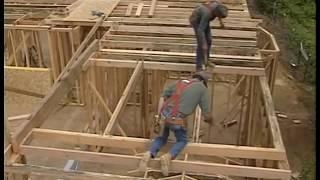 Стропильная система и кровля. Эффективный плотник.(Ларри Хон известный на весь мир специалист по каркасному строительству, учит в своем фильме основам строит..., 2016-07-29T10:08:41.000Z)