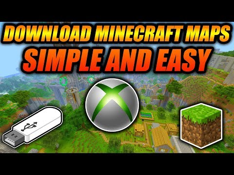 How To Download Minecraft Maps For Xbox 360 Edition! - Minecraft Console Tutorial Working 2018
