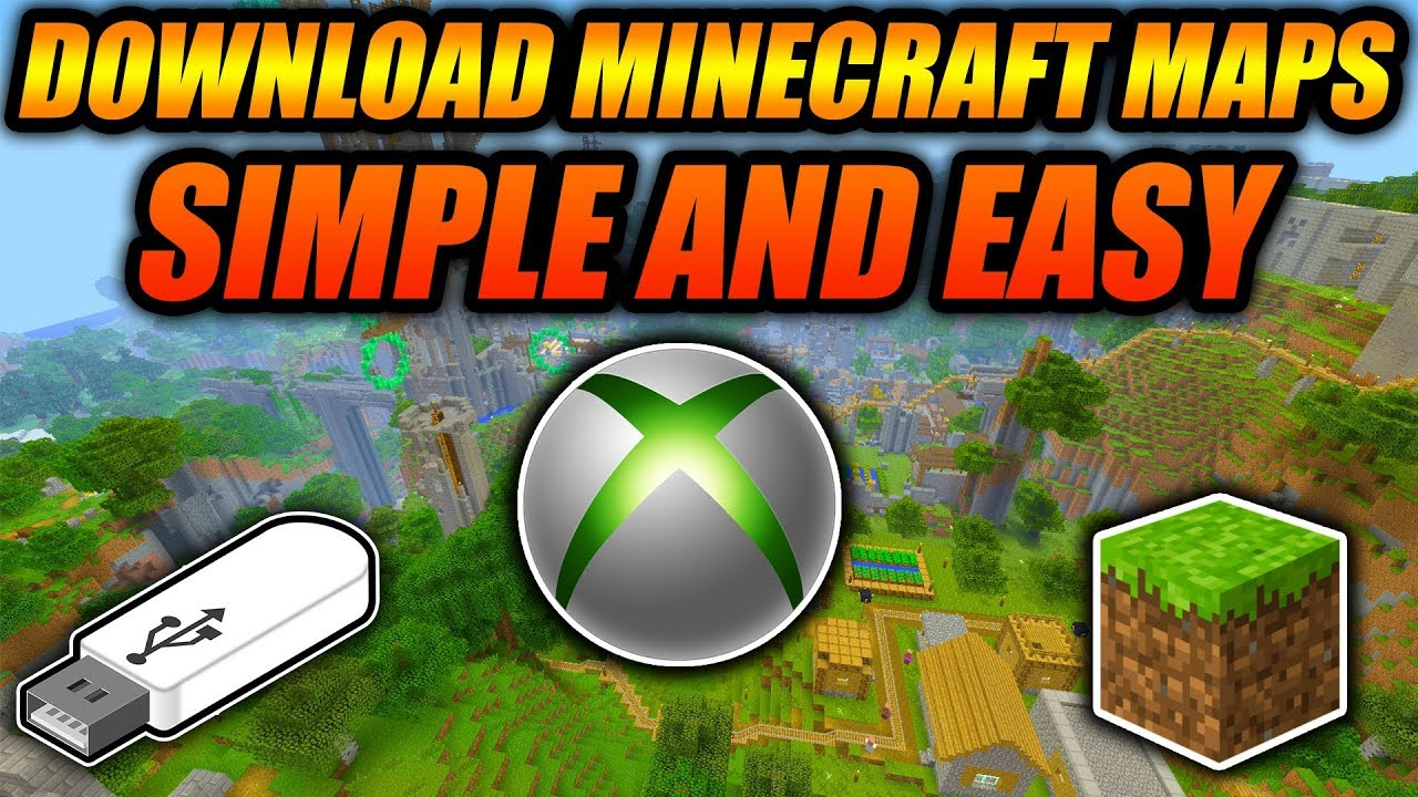 How To Download Minecraft Maps For Xbox 10 Edition! - Minecraft Console  Tutorial Working 10