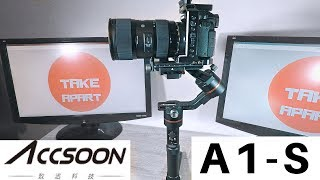 Accsoon A1-S | Professional 3Axis Camera Gimbal | Cinema Stabilizer | DSLR | [4K]