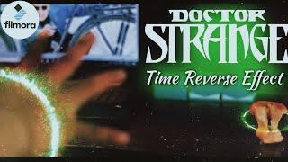 TIME REVERSE APPLE EFFECT IN FILMORA (HINDI)