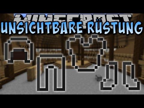 Minecraft UNSICHTBARE RÜSTUNG (Invisible Armor Mod) [Deutsch]