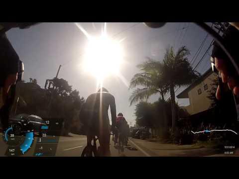 Bike ride Trancas to Santa Monica CA, 05/31/2014