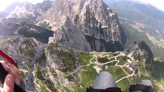 Osterfelder and Zugspitze  paraglide 21/07/2013