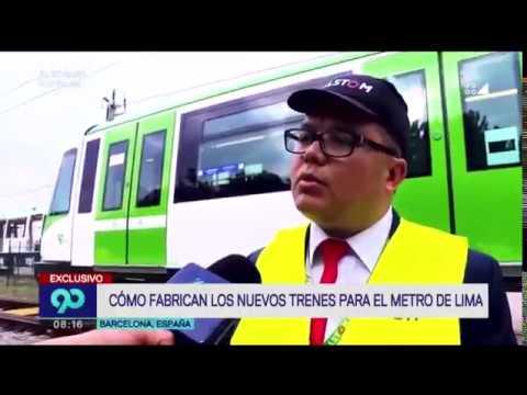 Llegan más trenes para el Metro de Lima y Callao