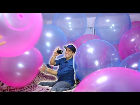 I filled our bedroom with giant WUBBLE bubbles!