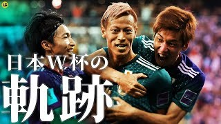 【モチベーション】W杯日本代表の歴史