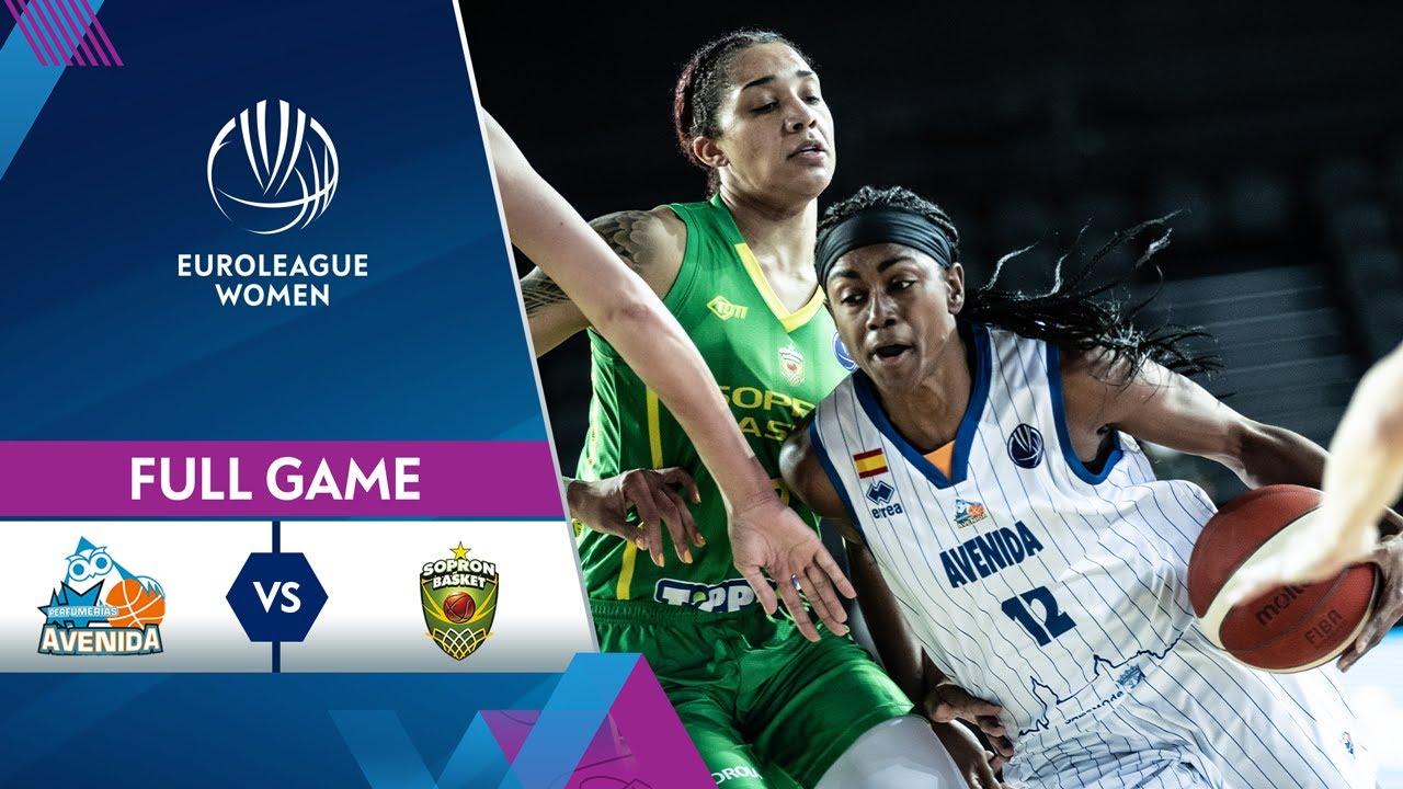 Semi-Finals: Perfumerias Avenida v Sopron Basket | Full Game - EuroLeague Women 2020