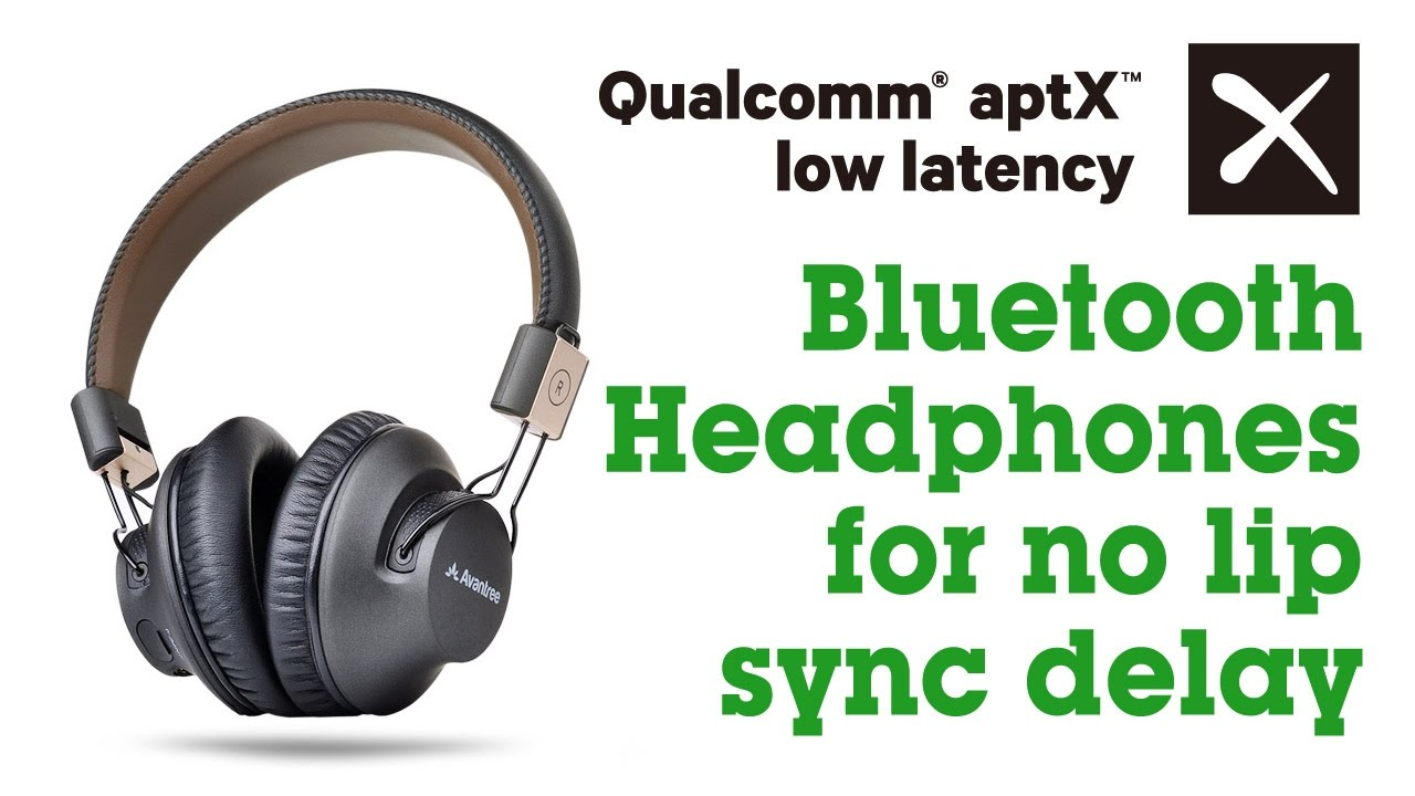 Avantree How to - Low Latency Bluetooth Headphones for no lip sync delay,  Audition Pro