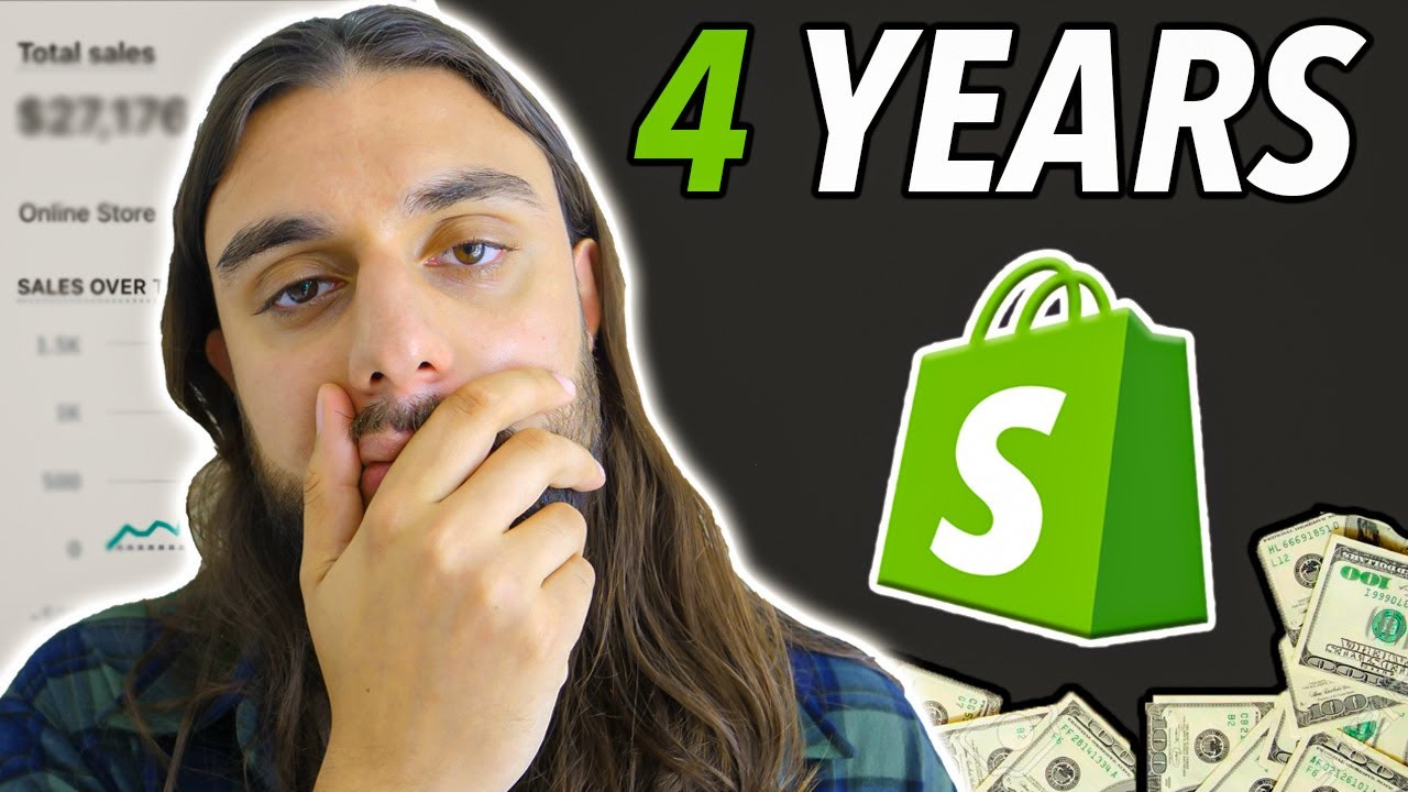 I Tried Shopify Dropshipping For 4 Years (MY JOURNEY)