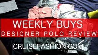 Stone Island Versace Ralph Lauren | Polo Shirt Special | Weekly Buys | Cruisefashion.com