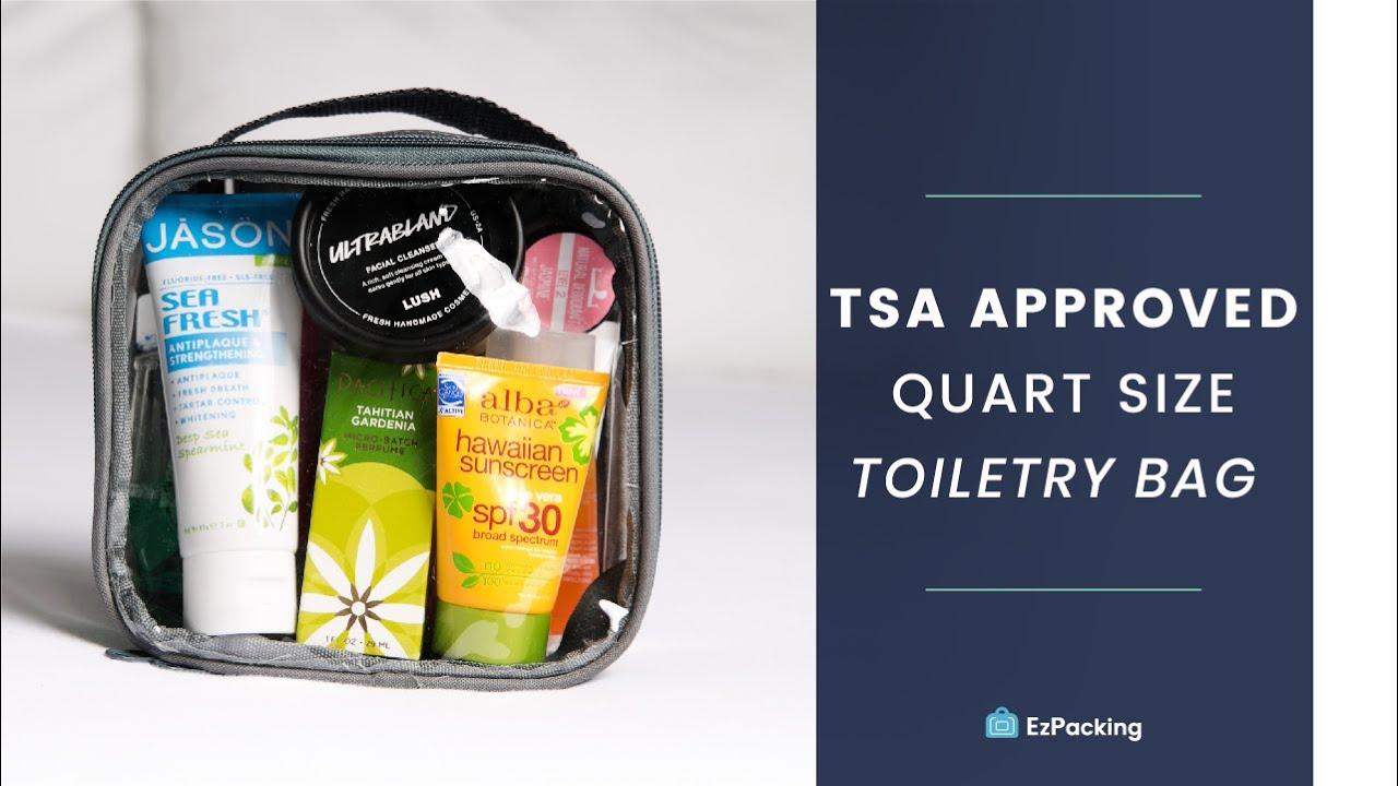 The Best Tsa Roved Quart Size Bag For Toiletries More