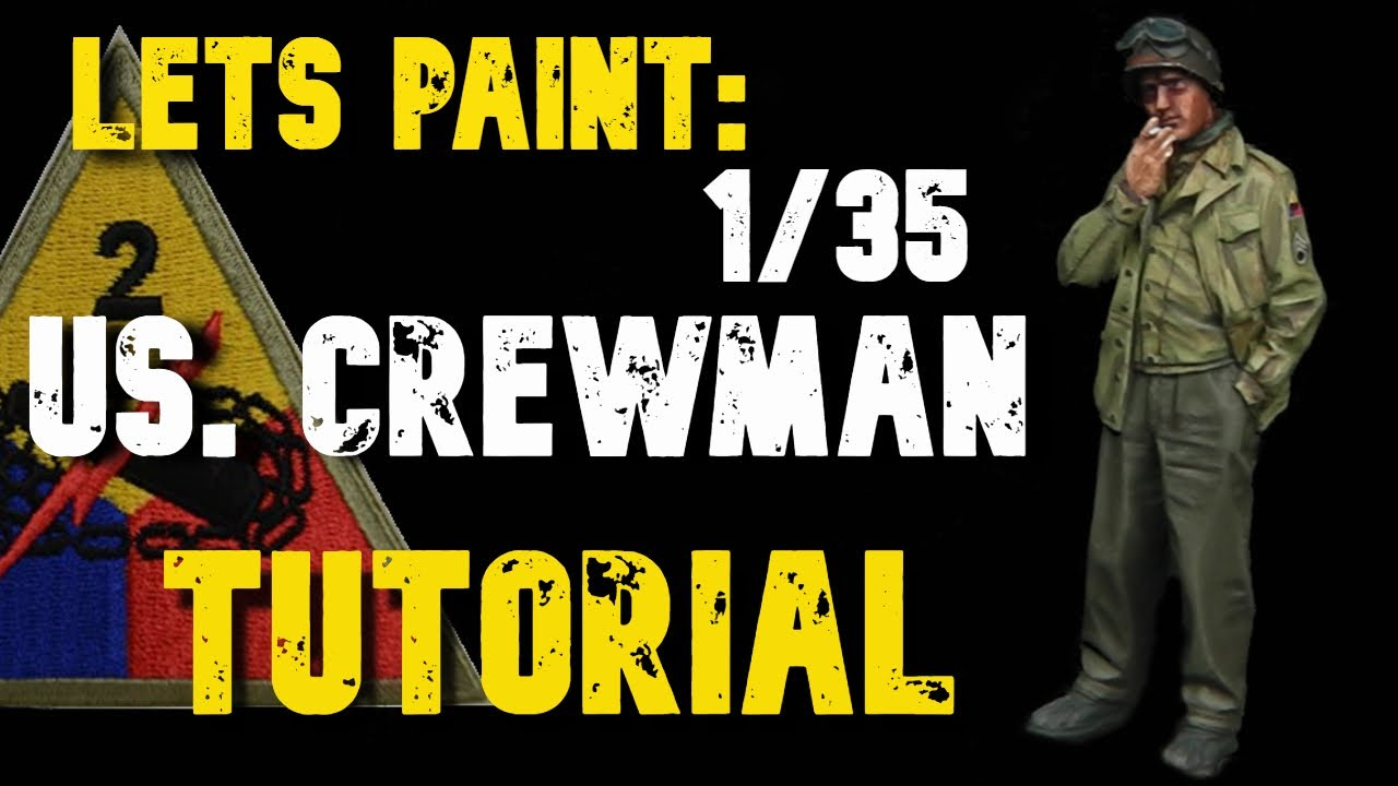 How to Paint 1/35 World War 2 US. Army Uniforms: PAINTING TUTORIAL