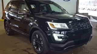 2017 Black Ford Explorer 4x4 XLT Review | Prince George Motors