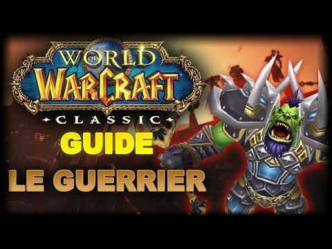 WoW Classic: Guide pour Guerrier - Leveling, PvE, PvP, Professions