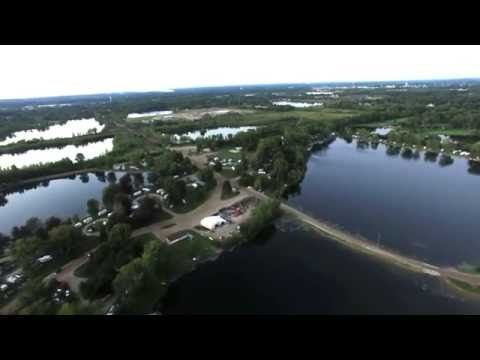 Haas Lake Campground Michigan Phantom 3 Pro