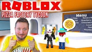COMKEANS PIZZARIA! - Roblox Pizza Factory Tycoon Dansk