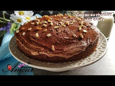 gateau-au-chocolat-sans-oeufs,-recette-tres-facile-et-rapide