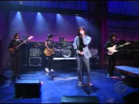 The Strokes - Someday  (Live Letterman)