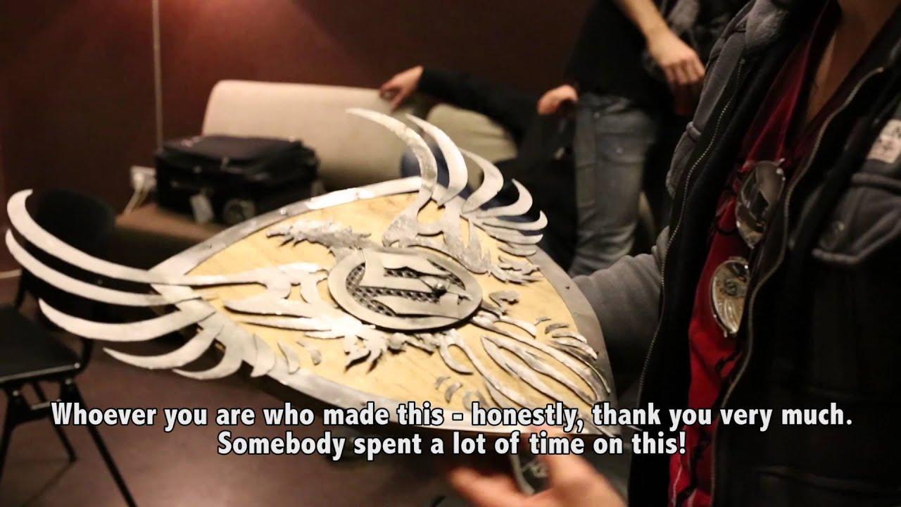 Sabaton Swedish Empire Tour 2013 — #73 — Eindhoven Metal Meeting