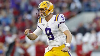 Joe Burrow Highlights vs Alabama | NCAA