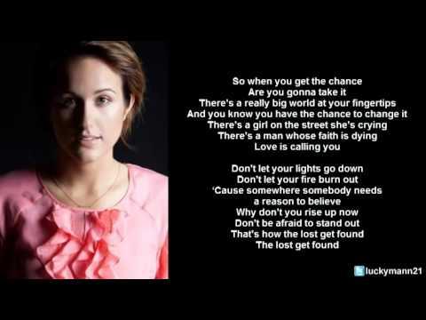 Britt Nicole - The Lost Get Found (Lyric Video) Christian Pop