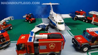 LEGO City Fire and Police Movie.