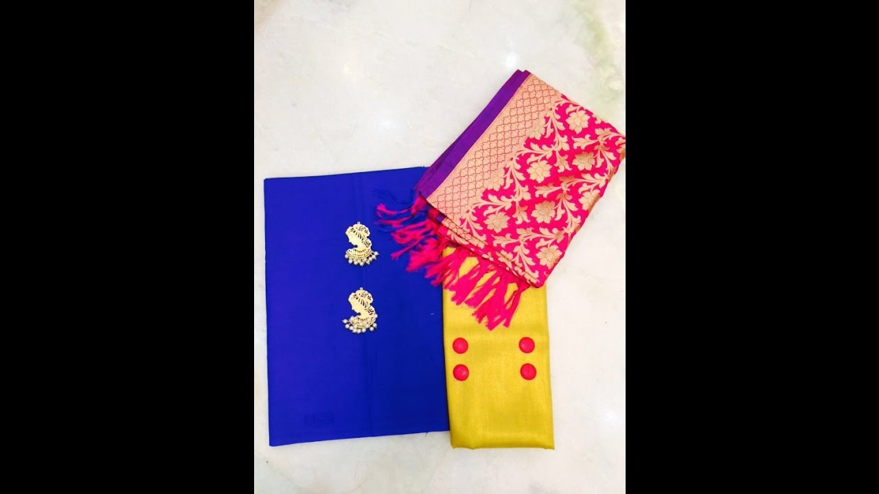a2fb0cc7b5 latest designer silk banarasi dress material with price/fashion9tv ...