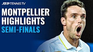 Goffin vs Gerasimov; Bautista Agut vs Gojowczyk | Montpellier 2021 Semi-Final Highlights