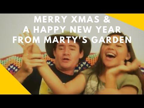 Martys Garden Australia Merry Xmas Happy New Year 2018 2019