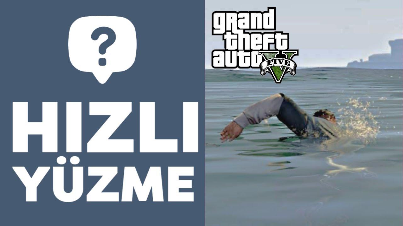 GTA 5 | HIZLI YUZME TELEFON KODU | PS4&PC&XBOX